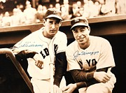 Yankees. Red Sox Prints - Baseball Heroes Print by Pg Reproductions