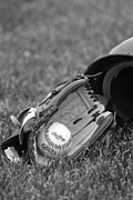 Glove Photo Originals - Baseball by Joe Grimando