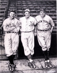 New York Drawings Metal Prints - Baseball Legends Metal Print by Bruce Kay
