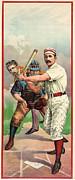 Baseball Player, C1895 Print by Granger