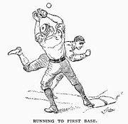 Base Ball Posters - Baseball Players, 1889 Poster by Granger