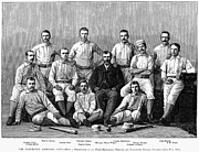 Baseball Uniform Prints - Baseball: Providence, 1882 Print by Granger