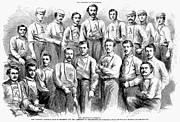 Sports Photo Prints - Baseball Teams, 1866 Print by Granger
