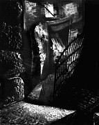 Creepy Digital Art Metal Prints - Basement Apartment Metal Print by Cori Caputo