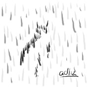 Bashful Without Line Print by Anita Dale Livaditis
