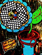 Coppers Metal Prints - Basic Gardening Metal Print by Amy Carruth-Drum
