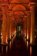 Basilica Cistern Print by Leslie Leda