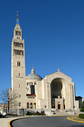 Immaculate Metal Prints - Basilica in Washington DC Metal Print by Olivier Le Queinec