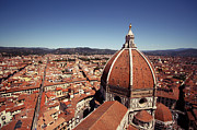 Maria Posters - Basilica Of Santa Maria Del Fiore, Florence Poster by Nicol Panzeri