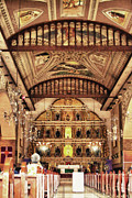Cebucity Prints - Basilica Of Santo Nino Print by James Bo Insogna