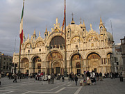 St. Mark Prints - Basilica San Marco Print by Bernard Jaubert