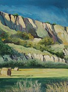Bales Paintings - Basilicata by Anne Parker