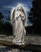 Mortality Metal Prints - Bask In His Glory Metal Print by Peter Piatt