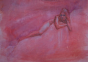 Nudes Drawings Originals - Bask by Peggi Habets