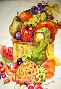 Essie Nyanganyi  - Basket of fruits