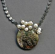 Sterling Silver Jewelry - Basket of Pearls by Mirinda Kossoff