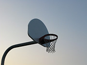 Basketball Equipment Print by Nicholas Eveleigh