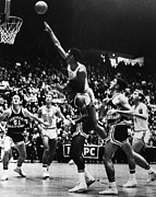 Basketball Collection Photo Prints - Basketball Game, 1966 Print by Granger