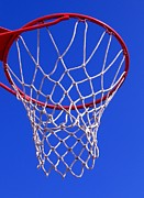 Backboard Prints - Basketball Hoop Print by Yali Shi