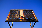 Hard Court Prints - Basketball net Print by John Greim