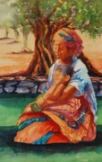 Donna Pierce-clark Art - Basking in The Son by Donna Pierce-Clark