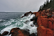 Water Photographs Prints - Bass Harbor Head Lighthouse Print by Rick Berk