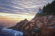 Bruce Dumas - Bass Harbor Light