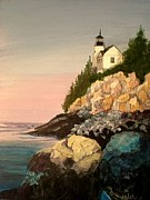 Janet Glatz - Bass Harbor Light