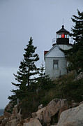  Southwest Harbor Prints - Bass Harbor Light Print by Timothy Johnson