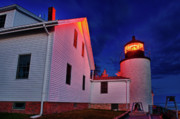 Bass Harbor Photos - Bass Harbor Lighthouse Maine by John Greim