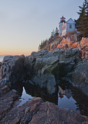  Southwest Harbor Prints - Bass Harbor Sunset Print by Glenn Gordon