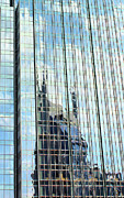 Nashville Tennessee Art - Bat Tower Reflected by Kristin Elmquist