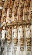 Hand Crafted Art - Batalha Gothic Monastery IX Portugal by John A Shiron