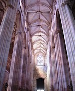Hand Crafted Art - Batalha Gothic Monastery VI Portugal by John A Shiron