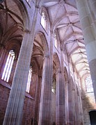 Hand Crafted Art - Batalha Gothic Monastery VII Portugal by John A Shiron