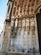 Hand Crafted Art - Batalha Gothic Monastery VIIII Portugal by John A Shiron