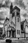Skylines Photo Originals - Batavia Baptist Church 2161 by Guy Whiteley