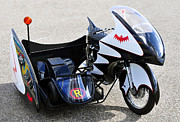 Robin Photos - Batcycle by David Lee Thompson