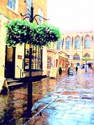 Mandy Thomas - Bath Abbey Side Street