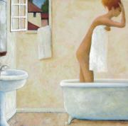 Bathing Paintings - Bather by Glenn Quist