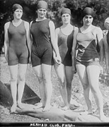 Philadelphia Metal Prints - Bathing Beauties, The Philadelphia Metal Print by Everett