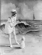 Bathing Suit Photos - Bathing Beauty, Young Woman In Bathing by Everett