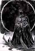Batman Drawings - Batman Art by Dheeraj Verma