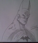 The Dark Knight Drawings - Batman by Ronnie Black