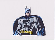 Batman Drawings - Batman by Toni Jaso