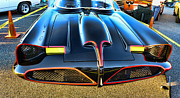 Lincoln City Prints - Batmobile - 2 Print by Paul Ward