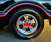 Lincoln City Prints - Batmobile - 3 Print by Paul Ward