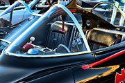 Lincoln City Prints - Batmobile - 4 Print by Paul Ward