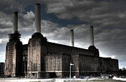 Beatles Photos - Battersea Power Station by Roddy Atkinson