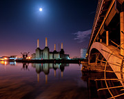 Battersea Power Station Print by Vulture Labs